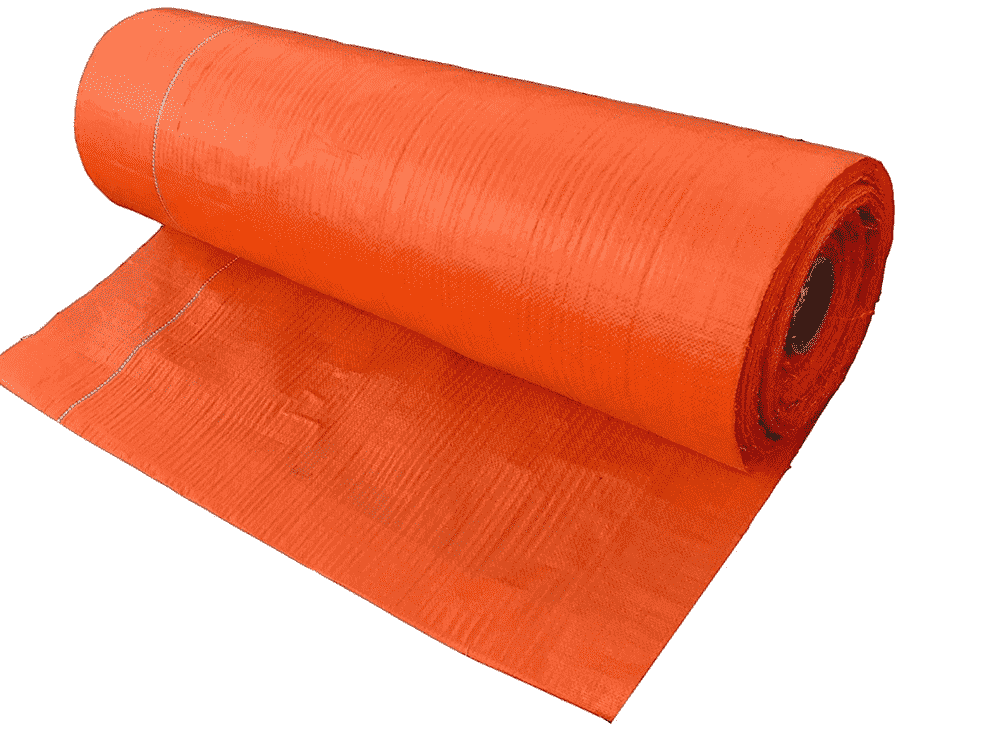 Landscape Fabric for Weed Control – Orange Color